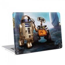 Wall E And R2d2 Macbook Skin Decal