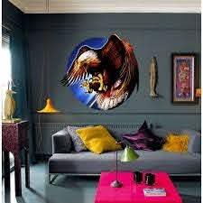 Shop Bald Eagle Wall Decal Eagle Sticker Eagle Wall Art Eagle Decoration On Sale Overstock 32299383