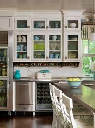 5 elegant glass kitchen cabinet doors