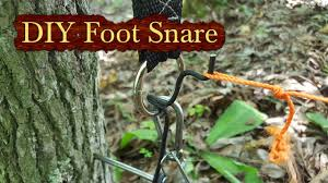 diy powered foot snare you