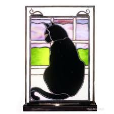 cat stained glass with images cat stain