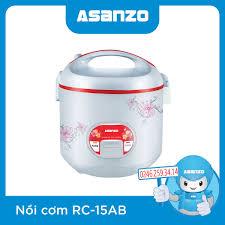 Nồi Cơm Điện Asanzo RC-15AB chính hãng, giá rẻ - ASANZO Hà Nội