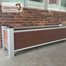China Water Proof Wood Plastic Composite Panels Wpc Outdoor Garden Fence China Fencing For Villa Garden Fence