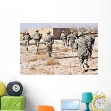 Us Army Soldiers Respond Wall Decal Wallmonkeys Com