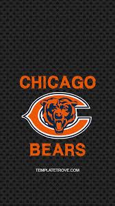 2018 2019 chicago bears lock screen