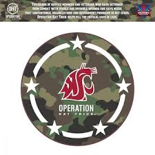 Washington State University Car Decals Decal Sets Washington State Cougars Car Decal Shop Wsucougars Com