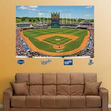 Kansas City Royals Kauffman Stadium Mural Wall Decal Allposters Com