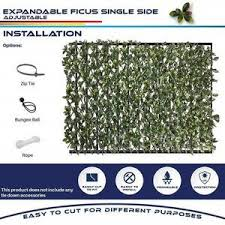 Holiday Promotion 50 Off Expandable Faux Privacy Fence Ailsaday
