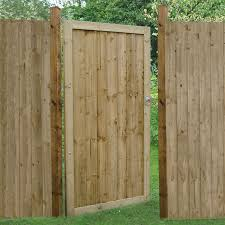 Forest 3 X 6 Featheredge Pressure Treated Wooden Side Garden Gate 0 92m X 1 8m Shedstore