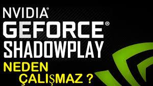 Windows 10 NVIDIA Shadowplay Neden Çalışmaz ? [ ÇÖZÜM ] - YouTube