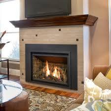 fireplace inserts log sets zero