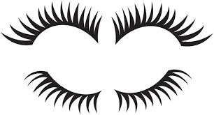 Amazon Com Black Eyelash Combo Top Bottom3 Logo Window New Sticker Automotive