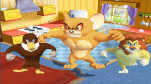 Tom And Jerry Funny Game - Big Jerry,Lion,Black Cat,Big Chicken ...