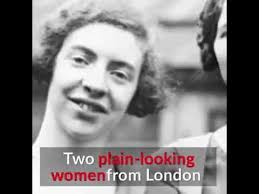 Ida Cook and Louise Cook - Wartime Heroines - YouTube