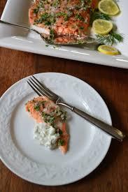Slow-Roasted Salmon with a Dill-Yogurt ...