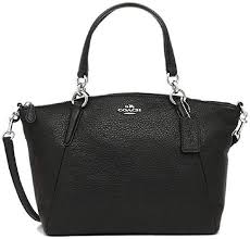 coach small kelsey satchel in pebble