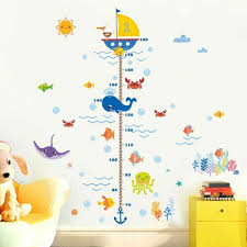 Removable Height Chart Measure Wall Sticker Decal For Kids Baby Room Giraffe Sy For Sale Online Ebay