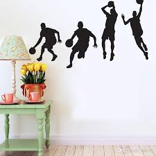 New Beautiful Design Basketball Wall Stickers Sport Removable Art Decal Vinyl Sticker For Boy Room Vinyl Decals Walls Vinyl For Wall Decals From Kity12 4 28 Dhgate Com