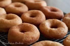 chocolate glazed yeast doughnuts