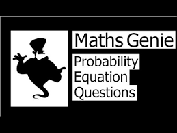 probability equation questions you