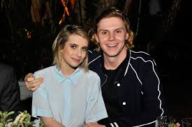 Emma Roberts and Evan Peters are ...
