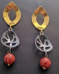 es 199 es 199 earrings with stones