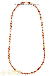 22k gold necklace with c 235