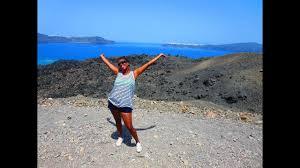 santorini greece volcano tour you