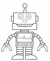 150+ Tranh tô màu mang chủ đề Robot dành cho bé