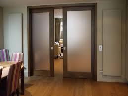 etched glass sliding pocket doors