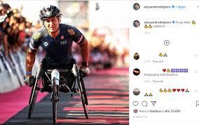 Alex Zanardi, le reazioni social dopo l'incidente