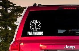 Paramedic Window Sticker Paramedic Decal Paramedic Sticker In 2020 Computer Decal Window Stickers Laptop Computers