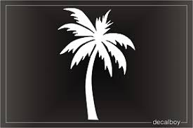 Palm Trees Decals Stickers Decalboy