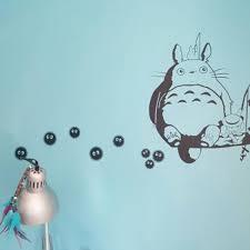 My Neighbor Totoro Soot Sprites Wall Art Stickers Ghibli Store