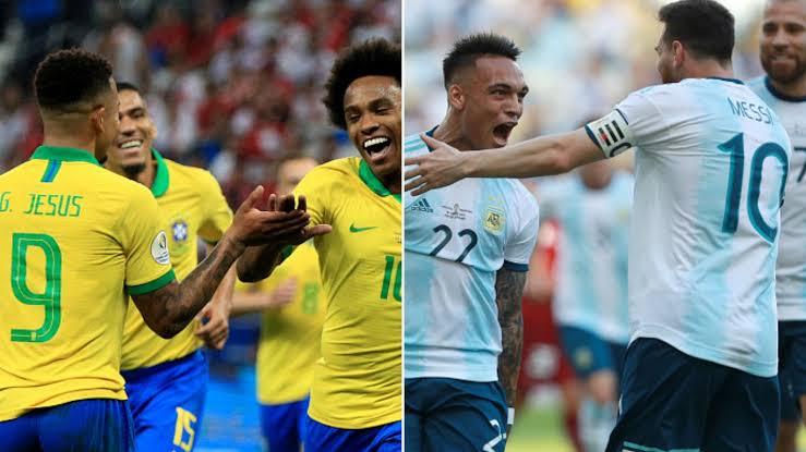 مشاهدة مباراة البرازيل والارجنتين بث مباشر 15-11-2019 الكلاسيكو
