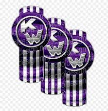 urple chrome kenworth emblem skins