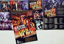 kevin clifton 2019 tour flyers x 2
