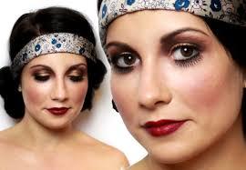 20s flapper makeup tutorial for halloween