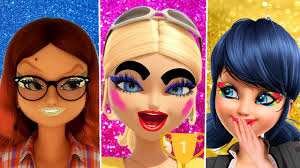 miraculous marinette makeup and dress