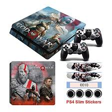Electronics Playstation 3 Ps4 Skins Ps4 Slim Sticker Ps4 Slim Sticker Hot Game God Of War Stickers For Playstation 4 Slim Console Controller Vinyl Skin Decals Dust Proof Protector Homie Store Ps4