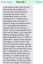 when you wake up to texts like this from your boyfriend how could