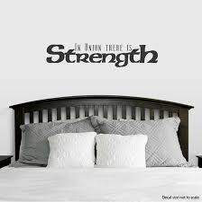 In Union There Is Strength Wall Quote Decal Wallums