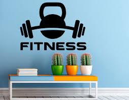 Fitness Room Wall Decals Amazon Inspirational Custom Design For Nursery Large Vinyl Motivational Uk Vamosrayos