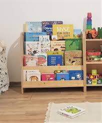Montessori Bookshelf Plywood Bookshelf Kids Bookshelf Etsy