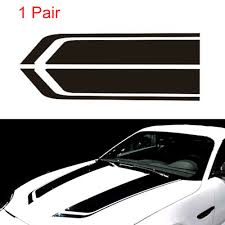 Bs2601 Mercedes Vito Bonnet Hood Racing Stripes Graphics Stickers Vinyl For Sale Online Ebay