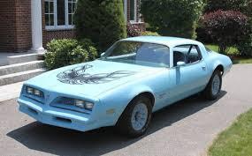Blue Bird 1977 Pontiac Firebird Esprit