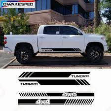 4x4 Off Road Stripes Car Door Side Vinyl Decals For Toyota Tundra Auto Body Exterior Accessories Waterproof Stickers Car Stickers Aliexpress