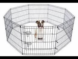 Unboxing Dog Fence 8 Panels Foldable Play Fence Pet Crates 1 5 Ft Tall Cage Puppy Shopee Lazada Youtube