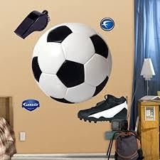 Soccer Balls Decal Boys Girls Room Decor Soccer Balls Fathead Style Wall Decals Team Sports Team Sports Soccer