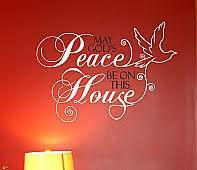 God S Peace Wall Decal Trading Phrases